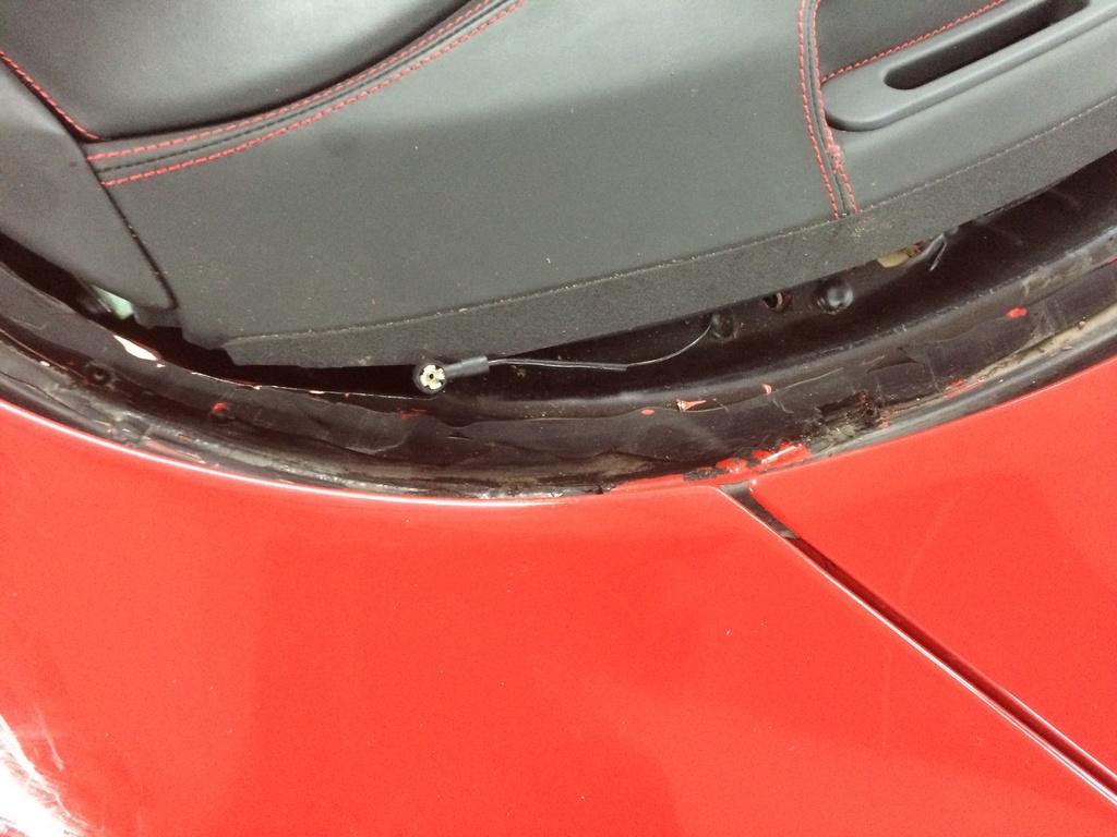 Frontscheiben Antenne Ferrari 430