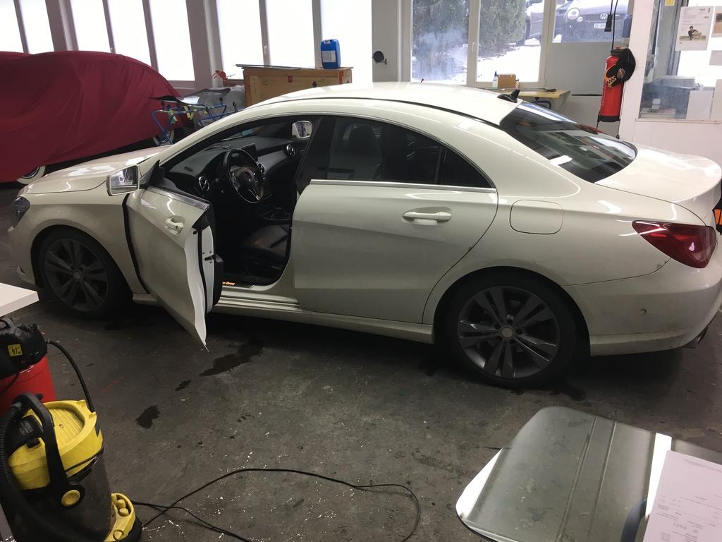 Frontscheibe Mercedes CLA